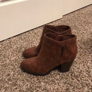 Rampage Brown Booties